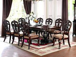 8 seater dining room table 8 table and chairs empire wooden dining table with 8 chairs