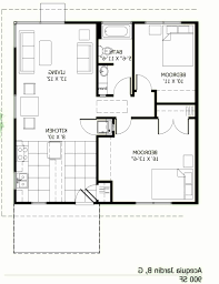 modern home plans under 1000 sq ft unique 800 square feet house plan inspirational floor