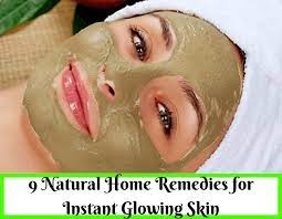 home remes for instant glowing skin