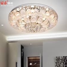 flush mount chandelier modern nice crystal lighting