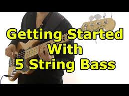5 String Bass Chord Chart 5 String Bass For Beginners