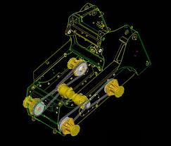 drive system how caterpillar skid steer loaders & multi terrain Bobcat Hydraulic Steering Diagram the skid steer drive system, shown mounted in the lower frame of the machine Bobcat 753 Hydraulic Leak