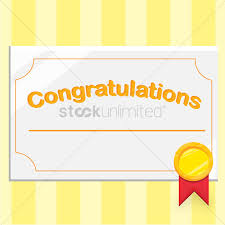 Congratulations Certificate Congratulations Certificate Vector Image 24 StockUnlimited 23