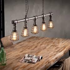 Industriële Hanglamp Tube Met Draad Lampenkap Wood It Be Nice