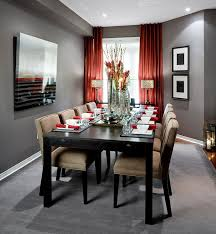 dining room designs jane lockhart interior design see curtain placement on left under eave red curtains living roomcurtains with grey wallswarm