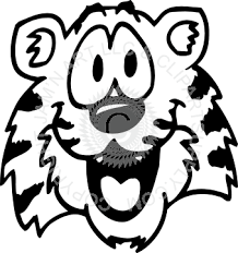 tiger face clipart black and white. Beautiful Black Clip Black And White Stock Cute Svg Free Download Tiger Face Clipart  In Face Clipart Black And White