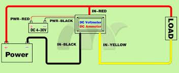 voltmeter ammeter wiring diagram voltmeter ammeter dc 0 30v 0 10a red blue dual led digital voltmeter ammeter voltage voltmeter ammeter wiring diagram