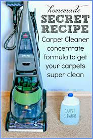 Bissell Carpet Shampoo Machine With Homemade Cleaning Solution For Machines