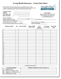 health insurance quotation template