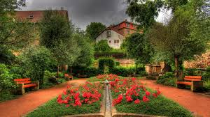 Ko 83 Beautiful Garden Wallpapers Pictures Of Beautiful Garden