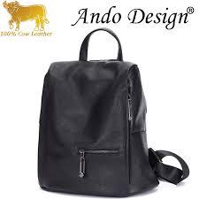 <b>Backpack</b> For <b>Women</b> Girls Genuine <b>Cow Leather 2019 New</b> ...
