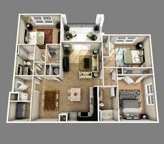 Modern 3 Bedroom House Design Modern 3 Bedroom House Design Plans 3d 25 More 2 Bedroom 3d Floor