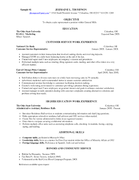 Resume Samples For Servers Perfect Resume