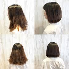 毛量が多いくせ毛さんの為の髪型とカットのポイント実例紹介