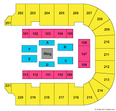 Bancorpsouth Center Seating Chart