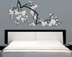 Branch And Blossom Decorative Home Accents Cherry Home Decor Blossom Wall Stencil New Blossoms Large Branch 2