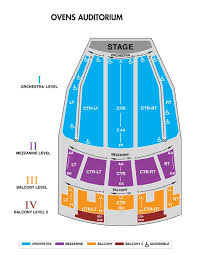 Seating Chart For Ovens Auditorium In Charlotte Ovens Auditorium Blumenthal Performing Arts