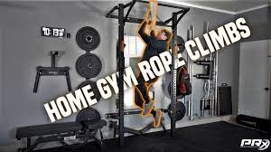 home gym rope climbs without a rope