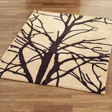 forest tree branch area rugs