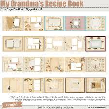 easy page pro al my grandma s recipe book biggie 8 5 x 11 prev