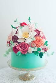 Beautiful Floral Cakes Cake Cake Floral Cake Mini Wedding Cakes