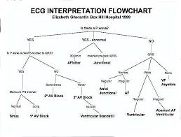 Ecg Interpretation Flow Chart Ekg Interpretation Critical