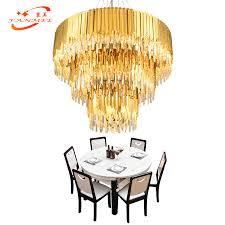 <b>Crystal Chandelier</b> Lighting 3 Tiers Restaurant LED Chandelier ...
