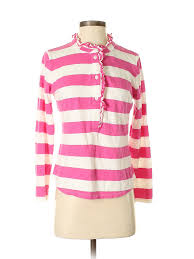 Crown And Ivy Size Chart Details About Crown Ivy Women Pink Long Sleeve Henley Sm Petite