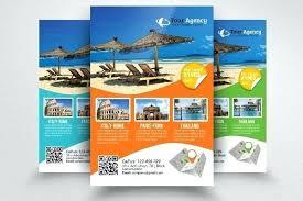 Free Fold Travel Brochure Template Co Sample Synonyme Francais
