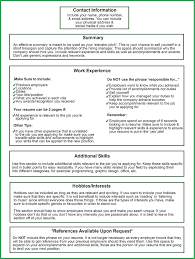 Singular What Should Your Resume Lookke How To Formatne