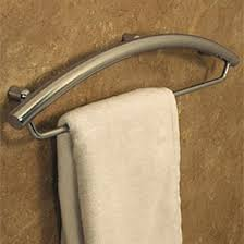 towel bar with towel. Contemporary Towel Towel Bar And Grab Combination Installation Example Installed Example Inside Bar With