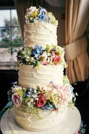 Colourful Home Made Village Hall Wedding I Do Wedding Cake