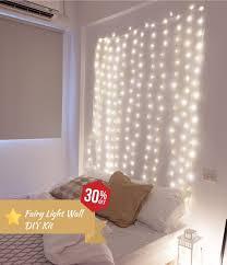 fairy light wall diy kit 30 off now