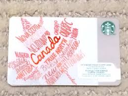 2016 starbucks canada leaf collectible gift card no cash value 1 of 1 see more