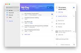 Microsoft To Do For Mac The Free Task Tracking Apps