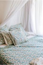 aqua single bedspread