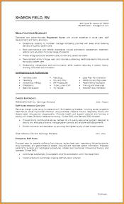 Respiratory Resume Extraordinary Experienced Nurse Resume Nursing Examples Best Of Charge R
