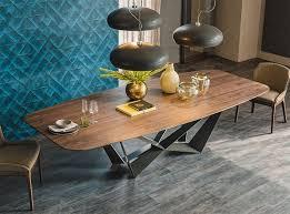 Skorpio Wood Oblong Dining Table by Cattelan Italia