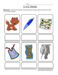 Resources   Phonics   Cvc   Worksheets