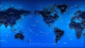 Map Of The World Background World Map Animated Background Youtube