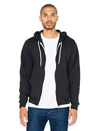 American Apparel Mens Flex Fleece Long Sleeve Zip Hoodie