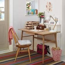 retro home office. White Country Home Office With Retro-style Desk And Chair | Homes \u0026 Interiors Housetohome.co.uk Retro
