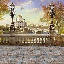 Laeacco Architecture Bridge Photography ... - Amazon.com