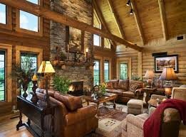 log home interior decorating ideas log cabin interior design 47