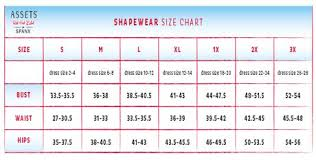 Spanx Size Chart Spanx Size Chart In 2019 Spanx Size Chart Girly Things