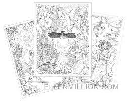 Small Picture Ellen Million is creating Fantasy and sci fi stories artwork