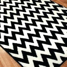 black and white chevron rug ikea area