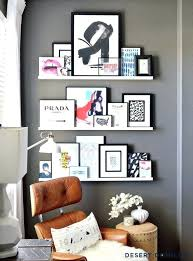 picture ledge wall look we love overstuffed ledges apartment therapy wooden display shelves floating mount shelf