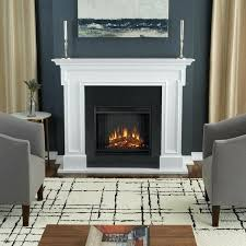 real flame electric fireplace white finish by 72 tv stand with