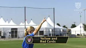 High School Football Referee Signals Chart Us Soccer Referee Signals